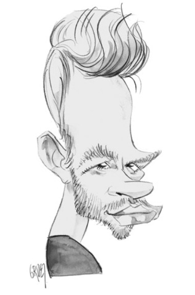Caricature by Jean-Michel Gruet of Inference