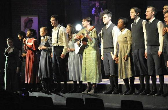 The cast of Spring Awakening at Trustus Theatre